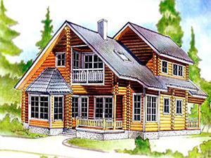 Проект дома с мансардами ДО№15 Цена: договорная