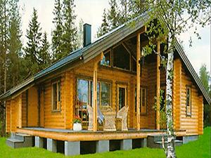 Проект дома из бревна с мансардной крышей ДО№18 Цена: договорная