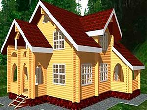 Проект 2-этажного дома с мансардами ДО№22 Цена: договорная