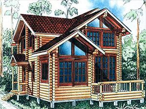 Проект дома с террасой ДО№23 Цена: договорная
