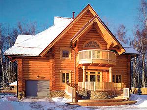 Проект дома с круглым балконом ДО№27 Цена: договорная