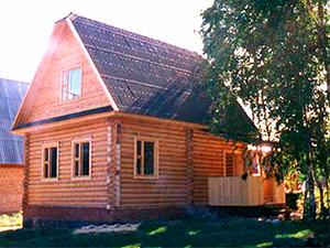 Проект дома из бревна с крыльцом ДО№36 Цена: договорная
