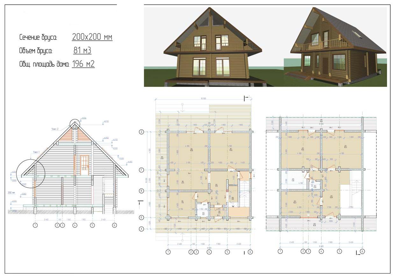 Проект дома ДП №17