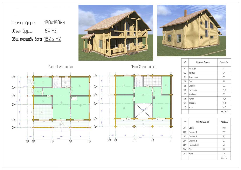 Проект дома ДП №3