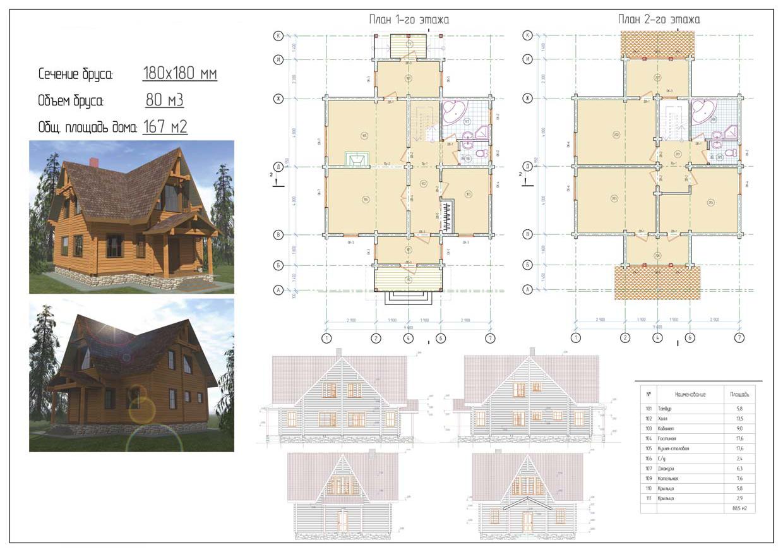 Проект дома ДП №6