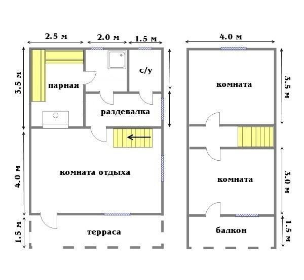 Проект бани БС №24