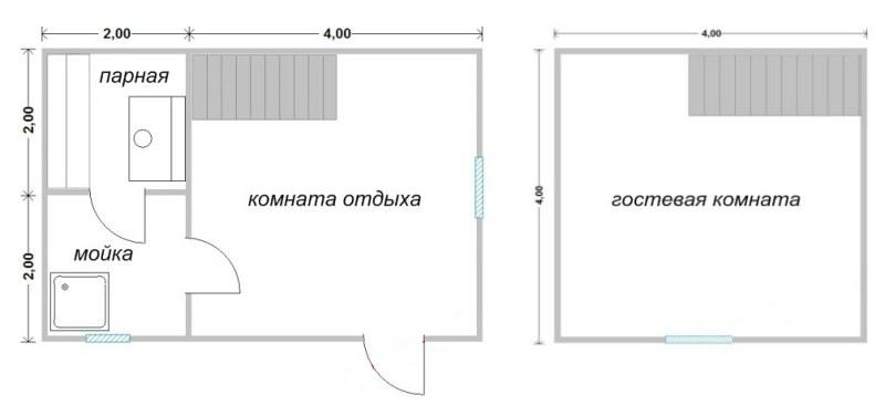 Проект бани БС №5