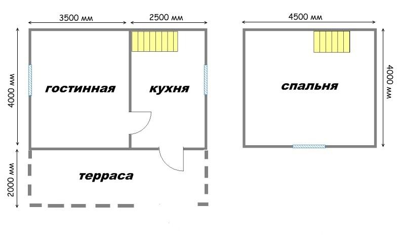 Проект дома ДС №10