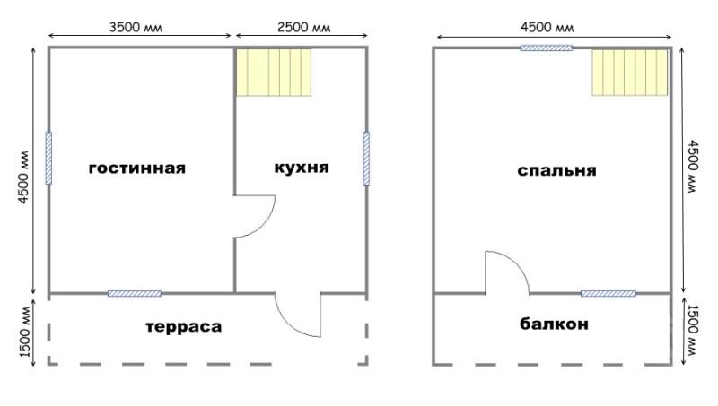 Проект дома ДС №14