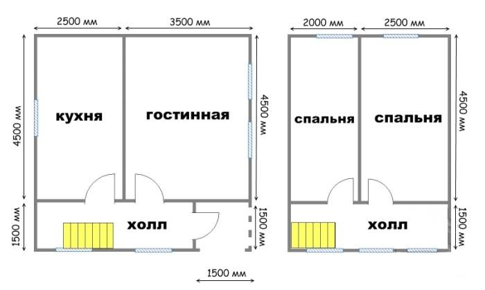 Проект дома ДС №17