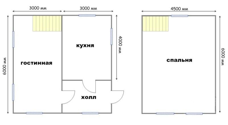Проект дома ДС №18