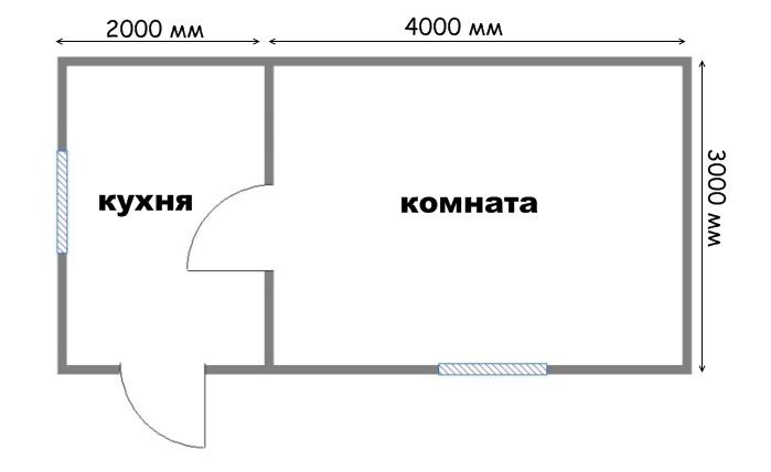 Проект дома ДС №2