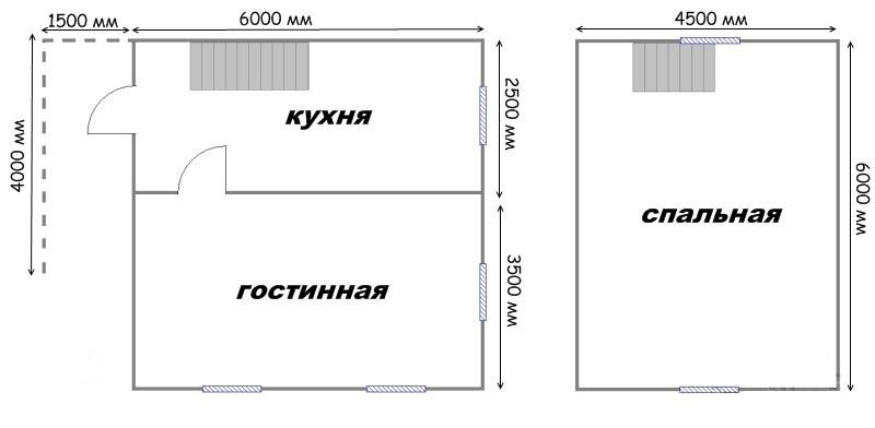 Проект дома ДС №19