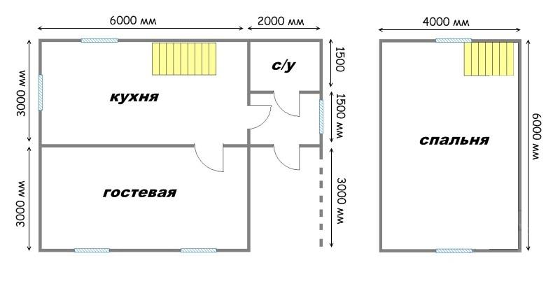 Проект дома ДС №24