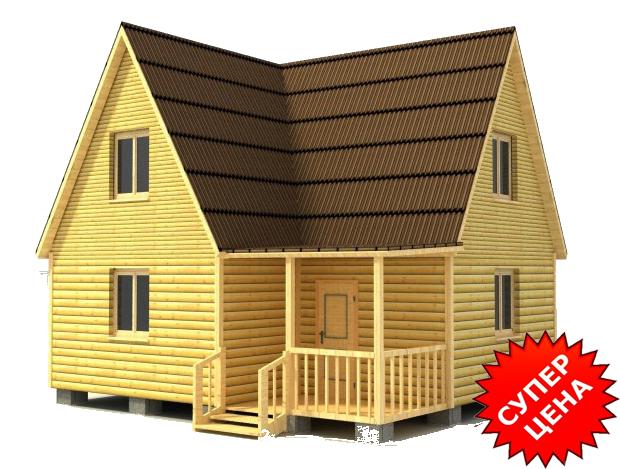 Проект Г-образного дома из бруса ДС №25 Стоимость из бруса 10х15см - 598 033 руб. Стоимость из бруса 15х15см - 676 433 руб.