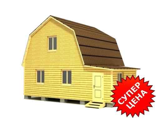 Проект дома из строганного бруса ДС №28 Стоимость из бруса 10х15см - 874 147 руб. Стоимость из бруса 15х15см - 1 008 007 руб.