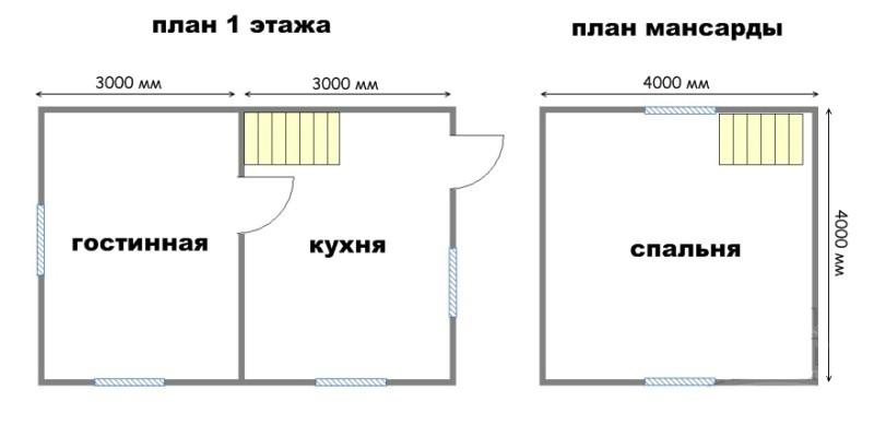 Проект дома ДС №3