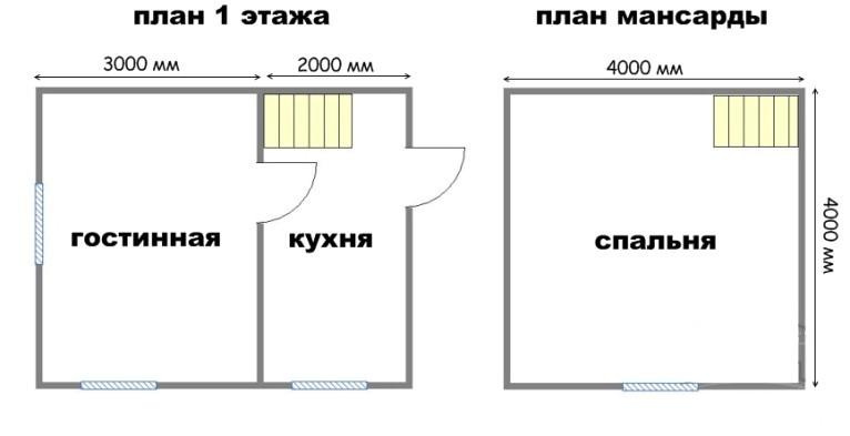 Проект дома ДС №4