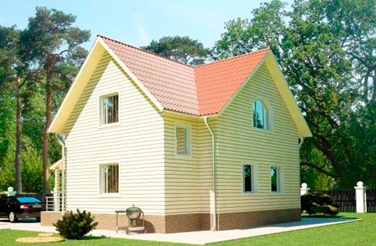 Проект дома ДК№14