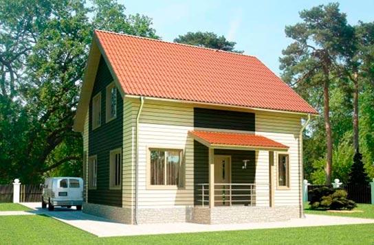 Проект дома ДК№17