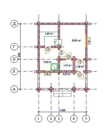 Проект бани БО№14