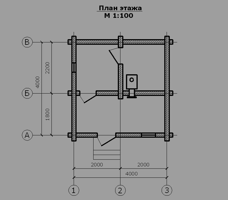 Проект бани БО№43