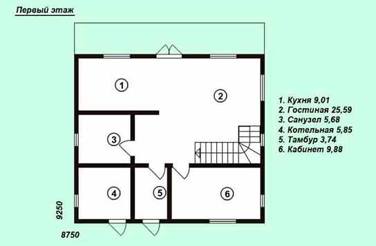 Проект дома ДК№11
