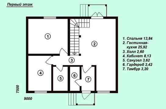 Проект дома ДК№13