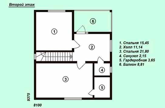 Проект дома ДК№16