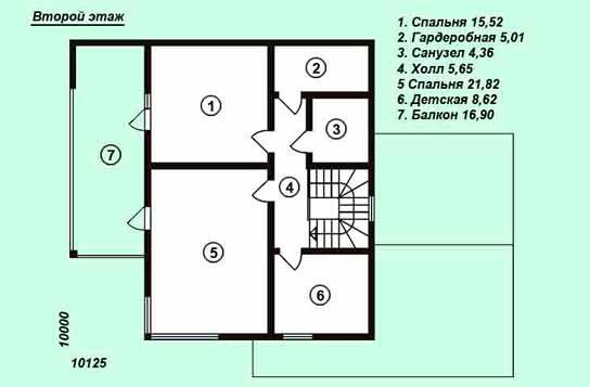 Проект дома ДК№20