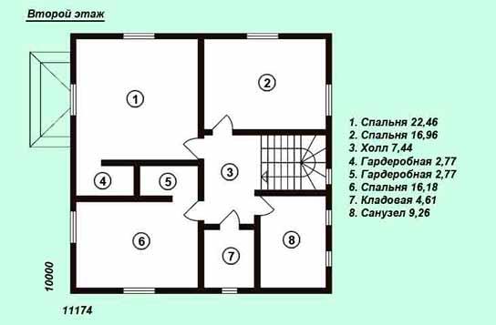 Проект дома ДК№23