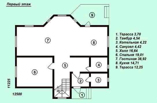 Проект дома ДК№25