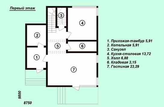 Проект дома ДК№5