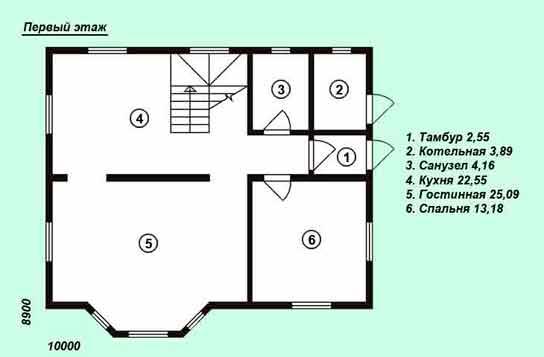 Проект дома ДК№8