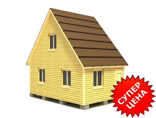 Проект дома ДС №3 Цена: за сруб от 370 000 руб.