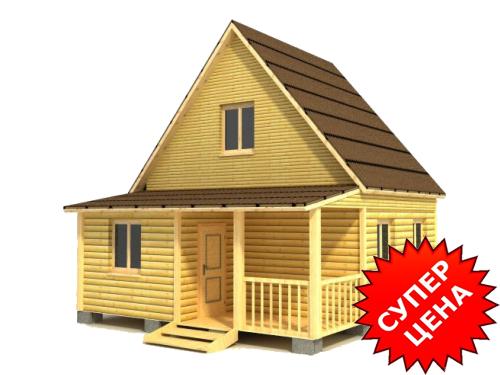 Проект дома ДС №15 Цена: за сруб от 460 000 руб.
