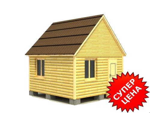 Проект дома ДС №1 Цена: за сруб от 210 000 руб.