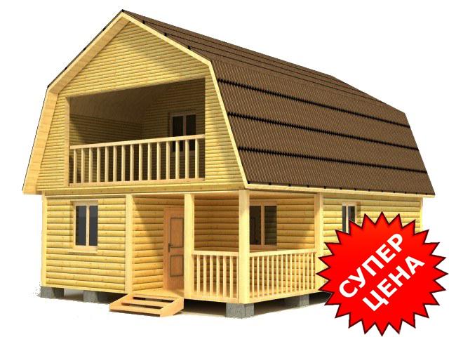 Проект дома БС №13 Цена: за сруб от 645000 руб.