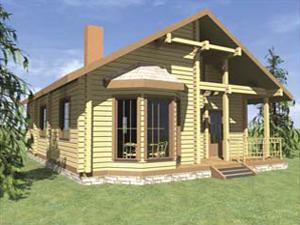 Проект дома ДП №5 Цена: за сруб от 825000 руб.
