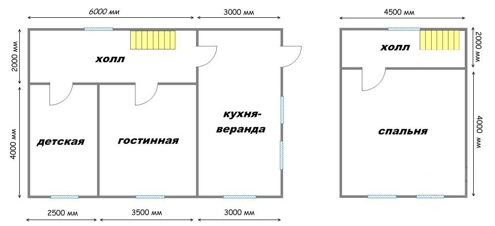 Проект дома ДС №30