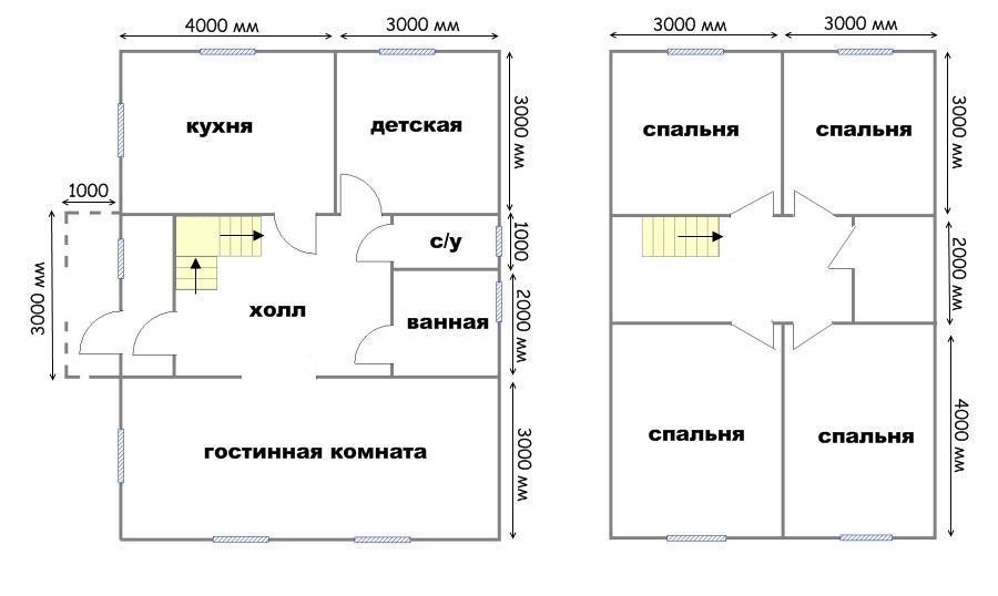 Проект дома ДС №32