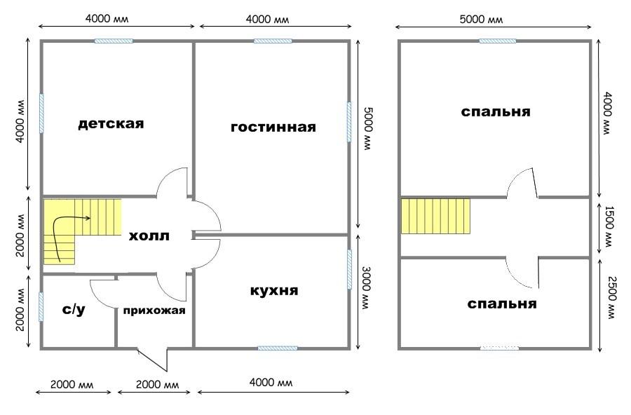 Проект дома ДС №34
