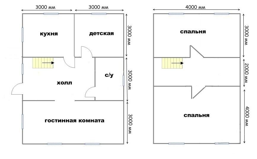 Проект дома ДС №35