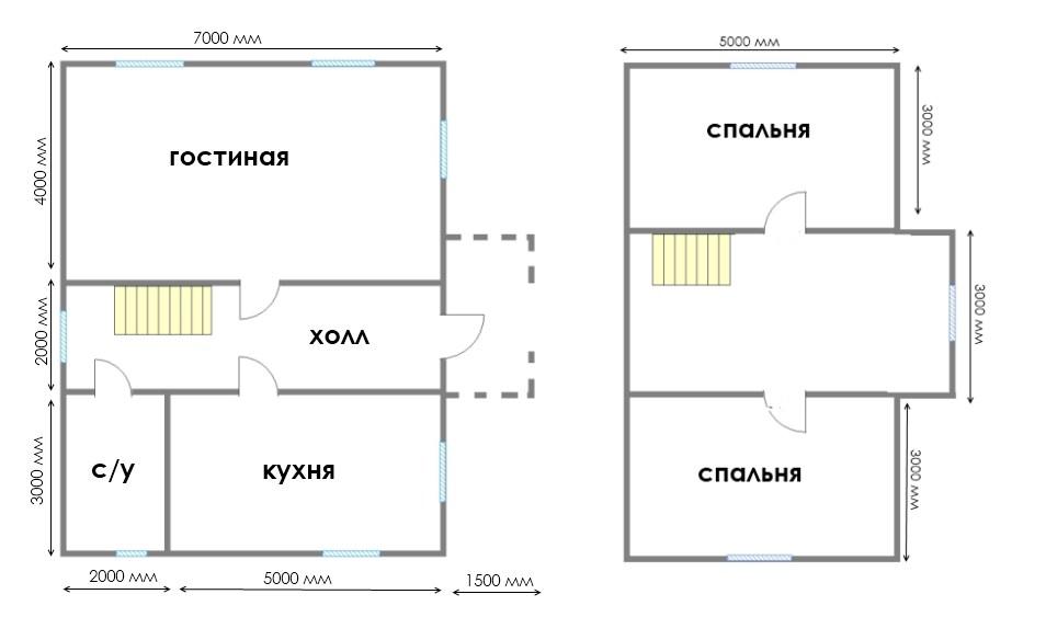 Проект дома ДС №36