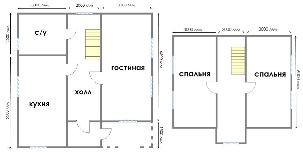 Проект дома ДС №37