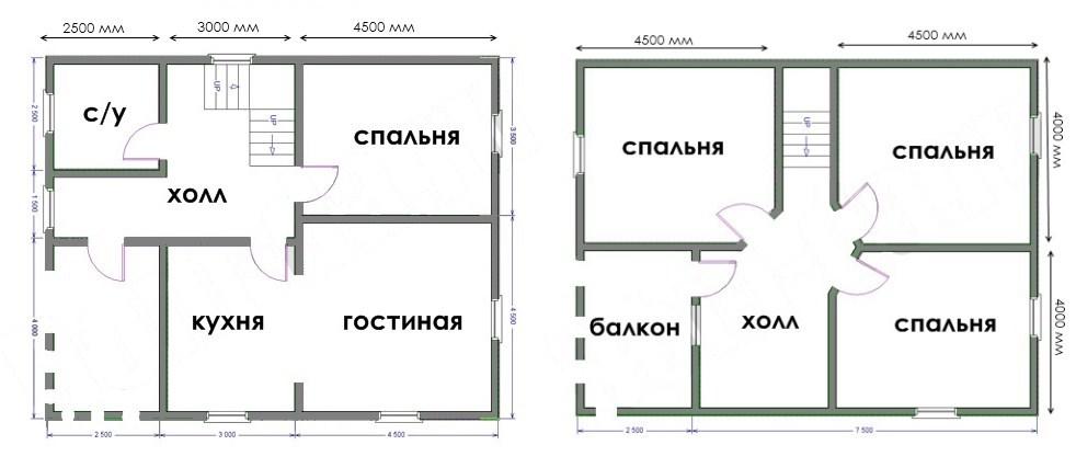 Проект дома ДС №39