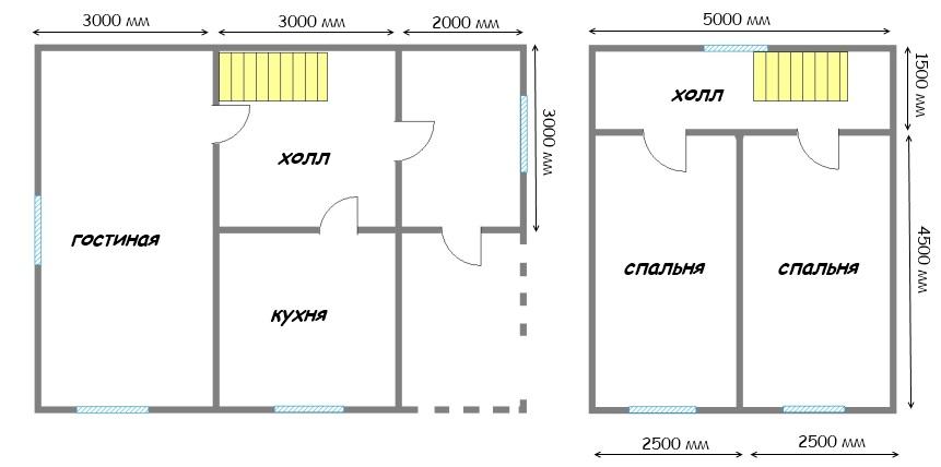 Проект дома ДС №40