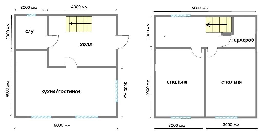 Проект дома ДС №43