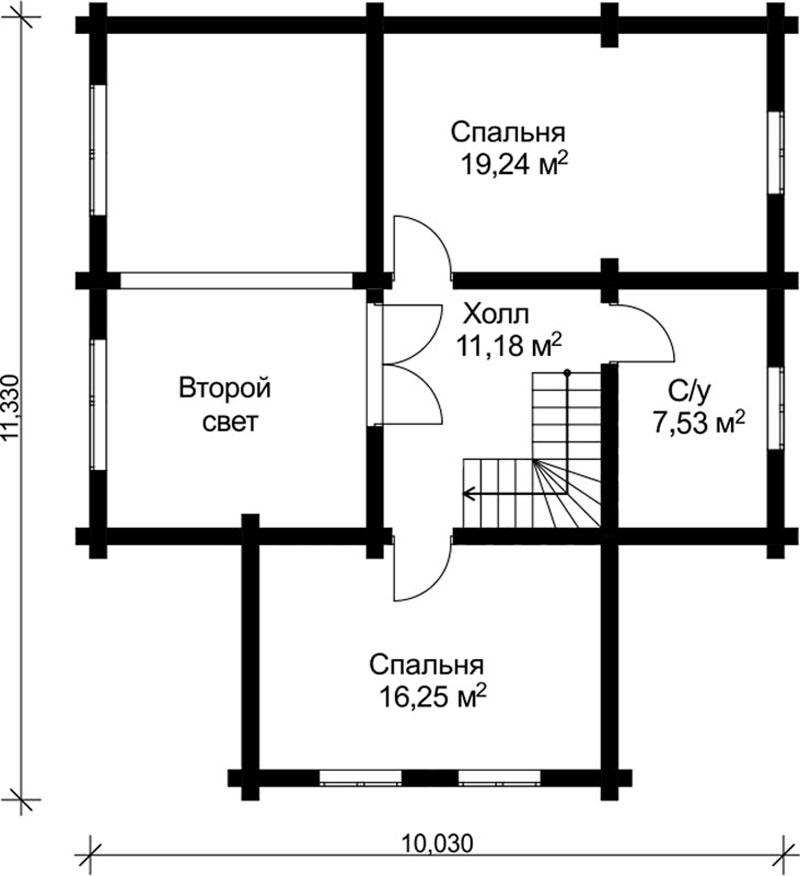 Проект дома ДК16