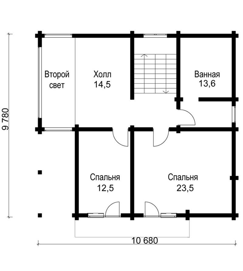 Проект дома ДК20